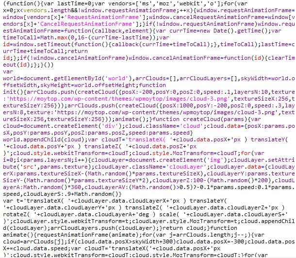 стало минификация js в гугл пейдж спид