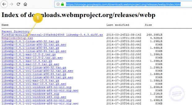 что за формат webp codec setup скачать