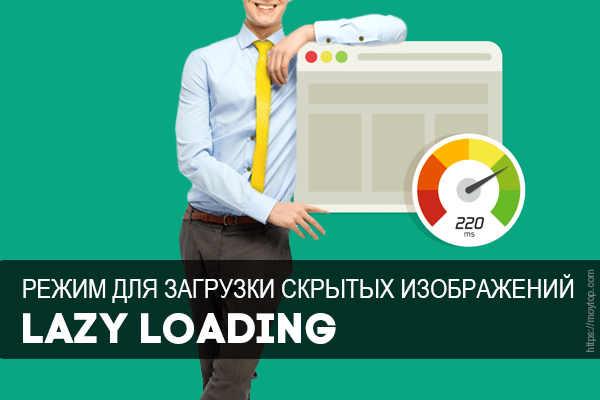 Lazy Loading для скрытых изображений