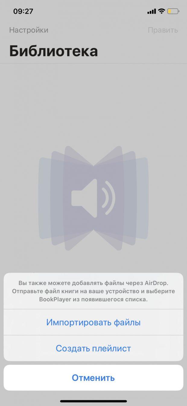 импорт в приложение как скачать аудиокнигу на айфон бесплатно